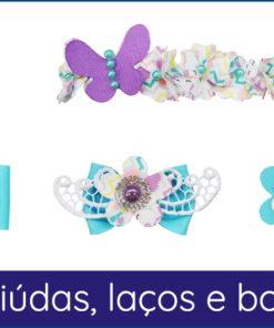 FL 205 - Flores Miudas, Laços e Borboletas-0