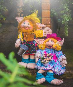 duendes jardineiros